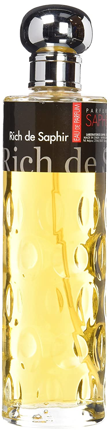 Saphir Rich Man Colonia con Vaporizador - 20 cl: Amazon.es: Amazon Pantry