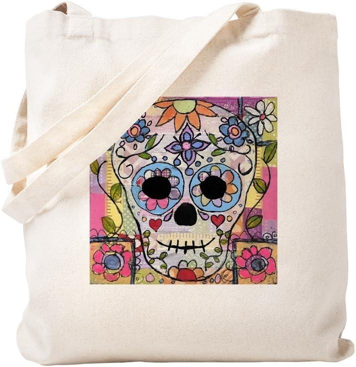 kaki Toile S CafePress Sac fourre-tout Motif t/ête de mort mexicain