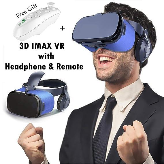 21dca3e54e6 Amazon.com  3D Virtual Reality Headset for Kid   Adult