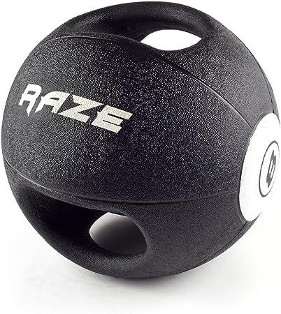Raze Dual Grip Balón Medicinal, Unisex Adulto: Amazon.es: Deportes y aire libre