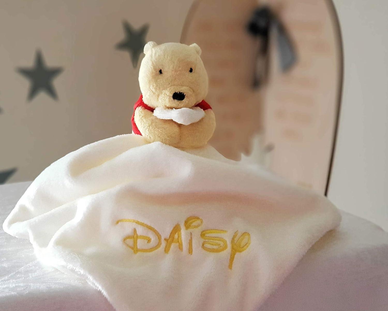 Personalised Classic Winnie the Pooh Baby Comforter / Baby Sleeping Comfort Blanket