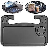 lebogner Auto Steering Wheel Desk, Laptop, Tablet, iPad Or Notebook Car Travel Table, Food Eating Hook On Steering Wheel…