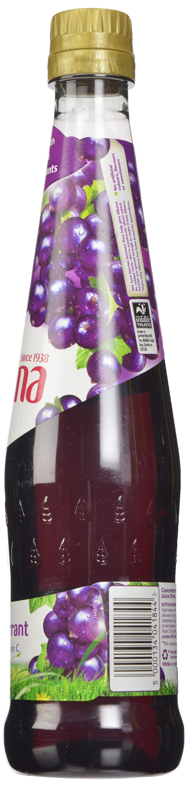 Ribena Original Blackcurrant Drink, 600 ml Bottle (Pack of 12) by Ribena (Image #6)