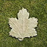Campania International E-113-EM Maple Leaf Step Stone, English Moss Finish