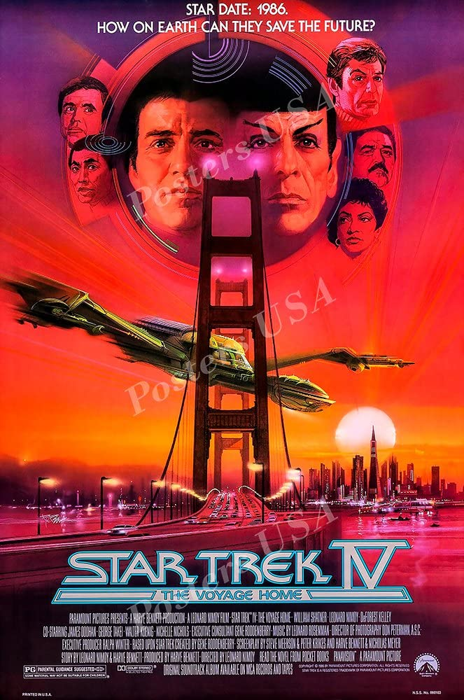 Posters USA - Star Trek The IV The Voyage Home Movie Poster GLOSSY FINISH) - STT007 (24