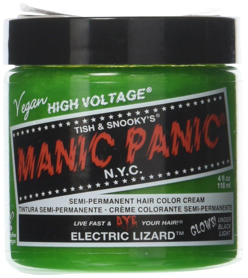 Manic Panic Semi-Permament Haircolor Electric Lizard 4oz 612600110296