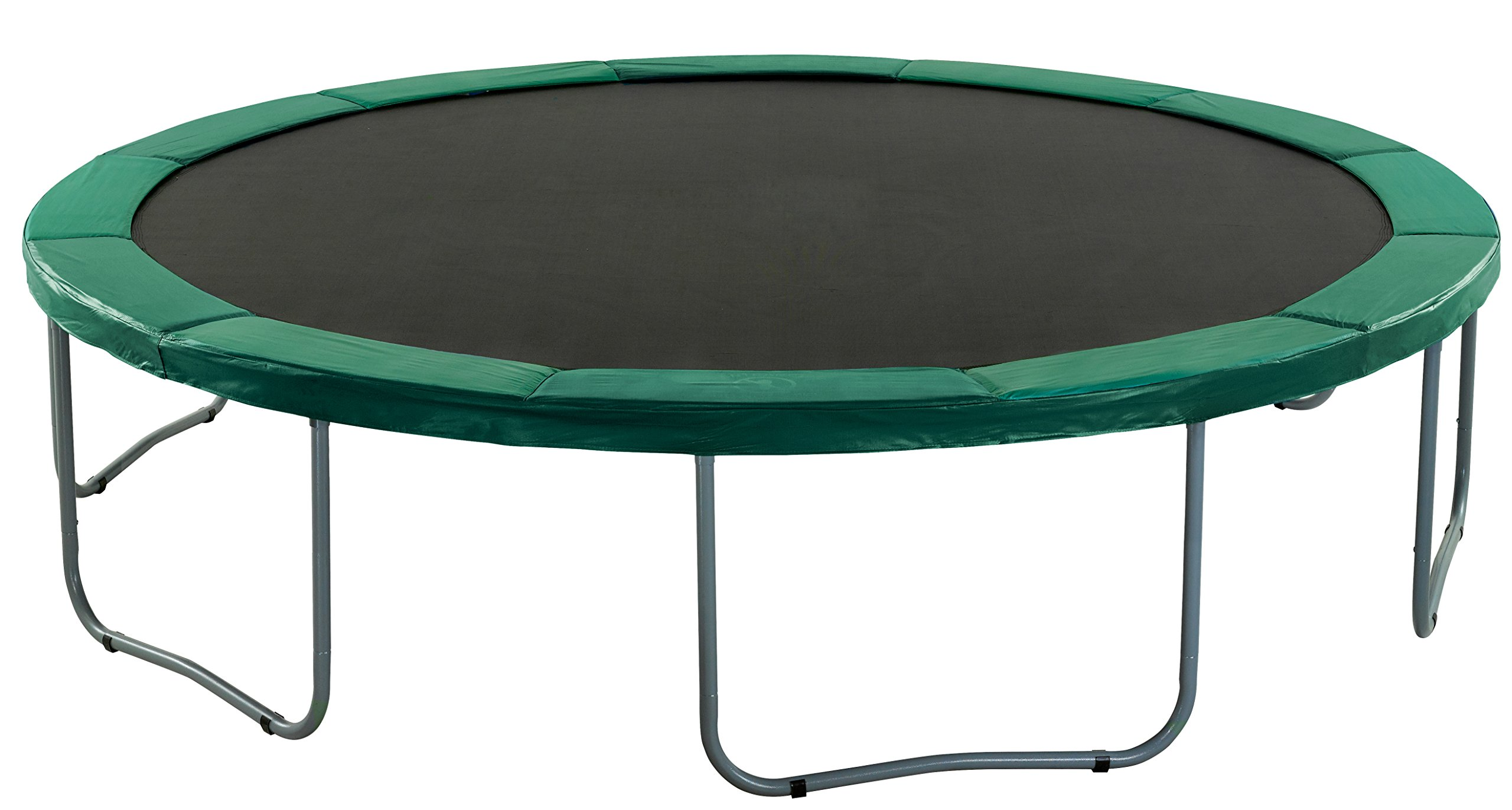 Upper Bounce Super Trampoline Safety Pad (Spring Cover) Fits for 14-Feet Round 10-Inch Wide Trampoline Frames, Green by Upper Bounce (Image #7)