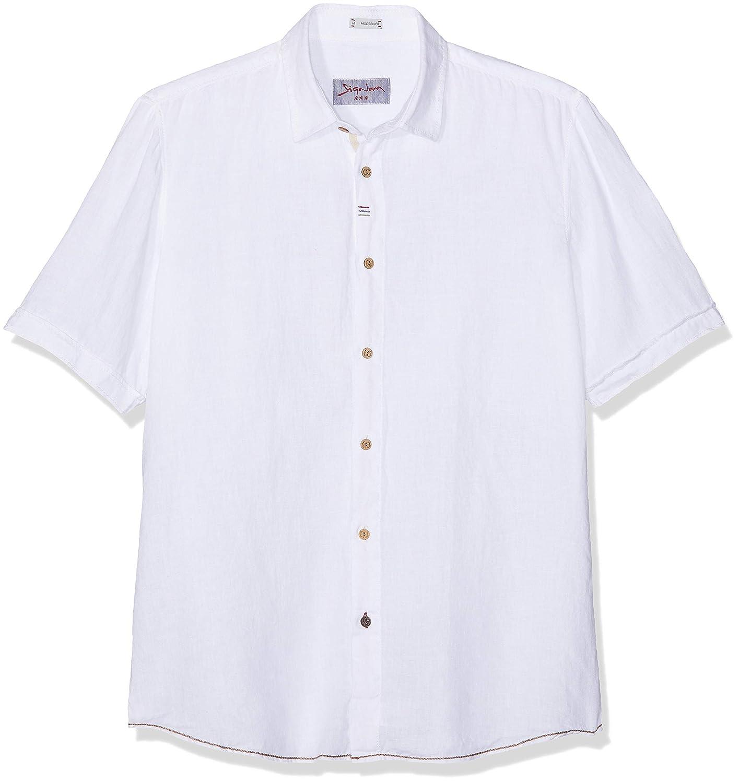 Blanc (Optical blanc 100)  Signum Chemise Décontracté Homme