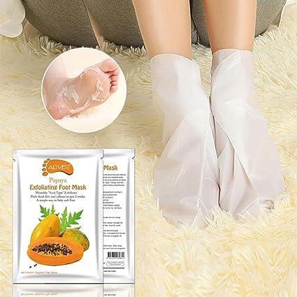 hunpta Papaya caliente eliminar piel muerta de pies máscara ...