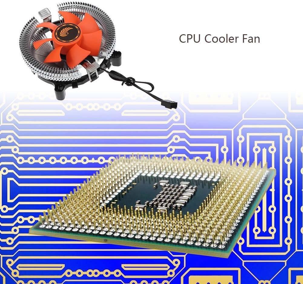CPU Cooler Fan Radiator WinnerEco 12V Hydraulic Bearing Heatsink Fan PC Air Cooling