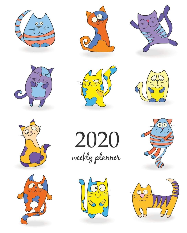 2020 Weekly Planner: Calendar Schedule Organizer Appointment ...