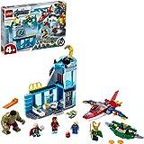 Super Heroes Avengers Marvel4+ Vengadores: Ira de Loki, Serie Figura de Iron Man y Hulk, multicolor (Lego ES 76152)