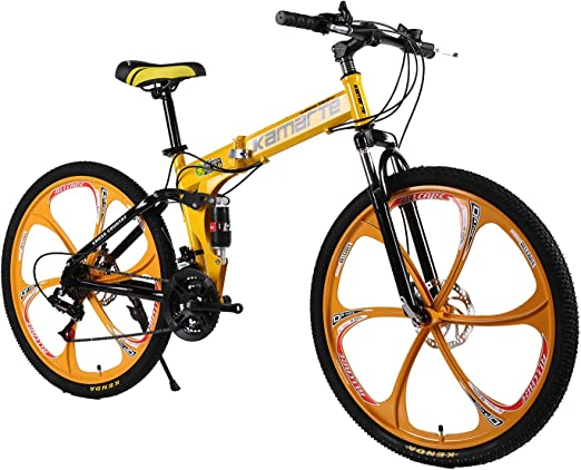 XCBY Plegable Ciudad Bicicleta 26