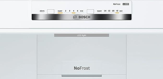 Bosch Serie 4 KGN39VI36 Independiente 366L A++ Plata, Acero ...