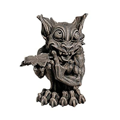 Design Toscano Babble The Gothic Gargoyle Statue : Outdoor Statues : Garden & Outdoor