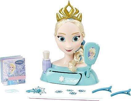 Disney/'s Frozen Elsa Styling Head │ Baby Girls/'s Toy Coiffage accessoires poupée