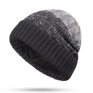 Navy USS John S McCain DDG56 Men/&Women Warm Winter Knit Plain Beanie Hat Skull Cap Acrylic Knit Cuff Hat
