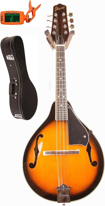 B000T4O98G Ibanez M510BS A-Style Mandolin, Brown Sunburst 71OOO7mR74L