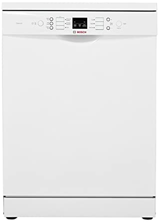 Bosch 12 Place Settings Dishwasher (SMS66GW01I, White)