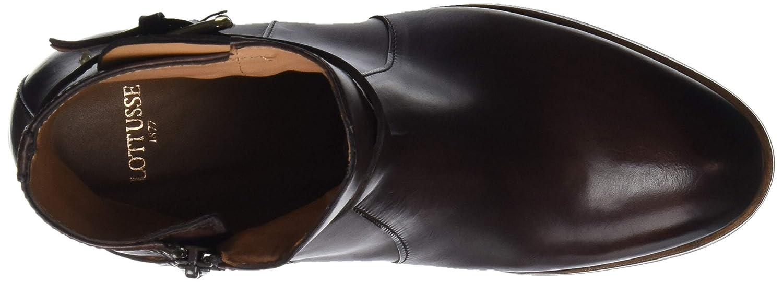 Lottusse Damen S9758 Kurzschaft Stiefel: : Schuhe
