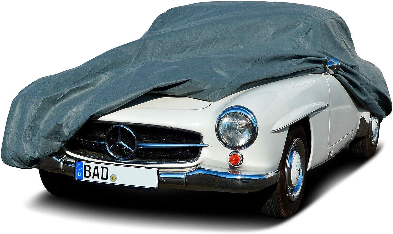 MyCarCover Autoplane In-Outdoor passend f/ür Mercedes-Benz C-Klasse W202 Abdeckplane Autogarage Schmutzabweisend Wasserabweisend f/ür Winter /& Sommer