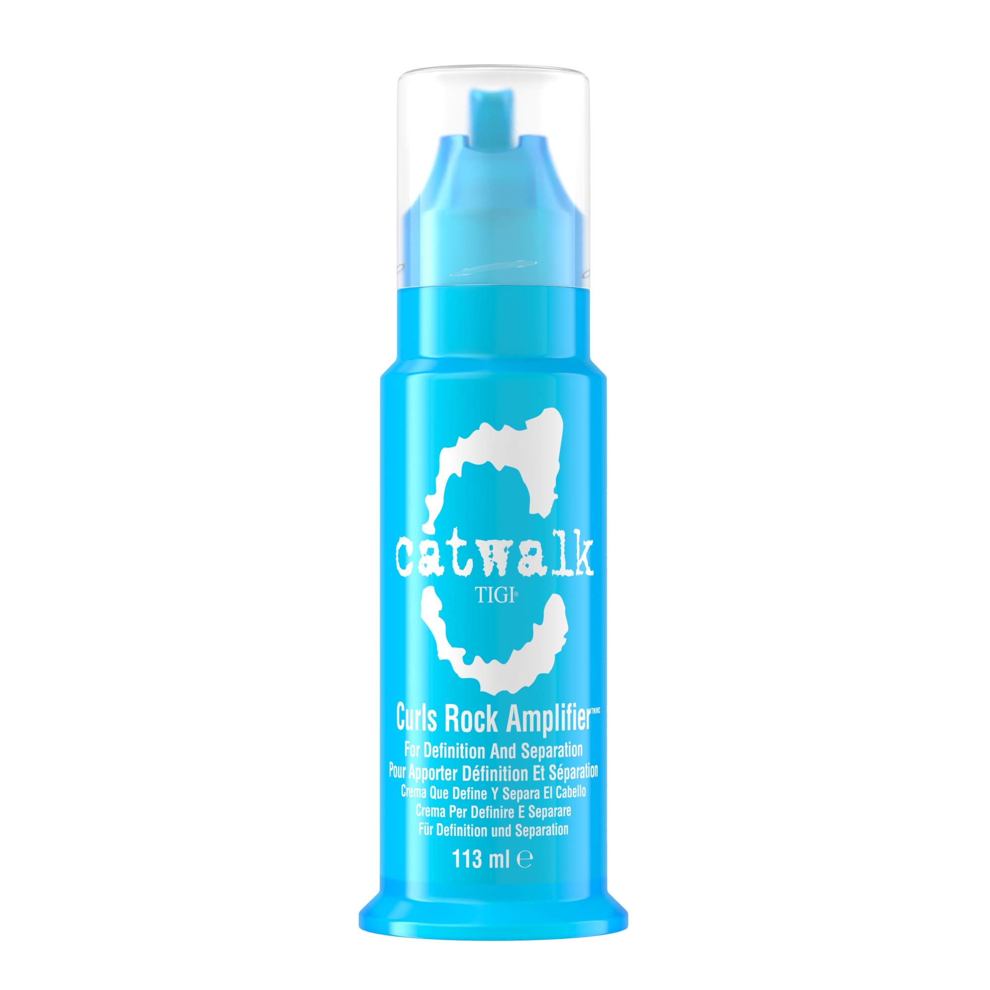 TIGI Catwalk BLUE Curls Rock Amplifier 3.8 oz