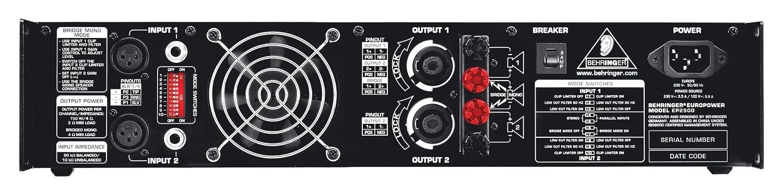Behringer Euro power Ep2500 estéreo End Nivel: Amazon.es: Instrumentos musicales