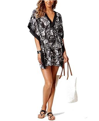 4ece331b77912 Lauren Ralph Lauren Womens Sydney Printed Swim Top Cover-Up B/W S at Amazon  Women's Clothing store: