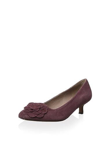 8f349b6cae Amazon.com: Donald J Pliner Purple Seel Suede Kitten-Heel Pump ...