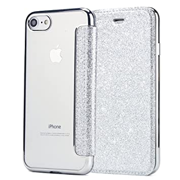678a27e1c3 iPhone7 ケース 薄型 薄い 手帳型ケース 手帳タイプ マグネットなし iPhone7スマホケース ACkaban 可愛い おしゃれ