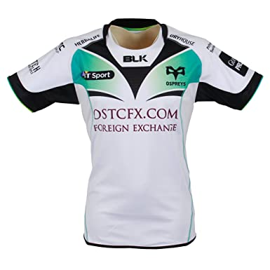c75ca04703e Amazon.com: blk Ospreys 16/17 Away Replica Shirt Adults: Clothing
