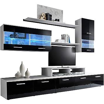 Domovero Kanto TV Wand Einheiten Moderner Stil Entertainment ...