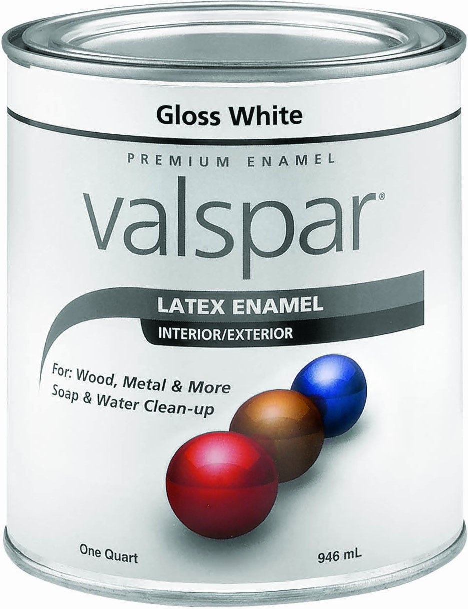 Amazon.com: Valspar 65000 Premium Interior/Exterior Latex Enamel ...