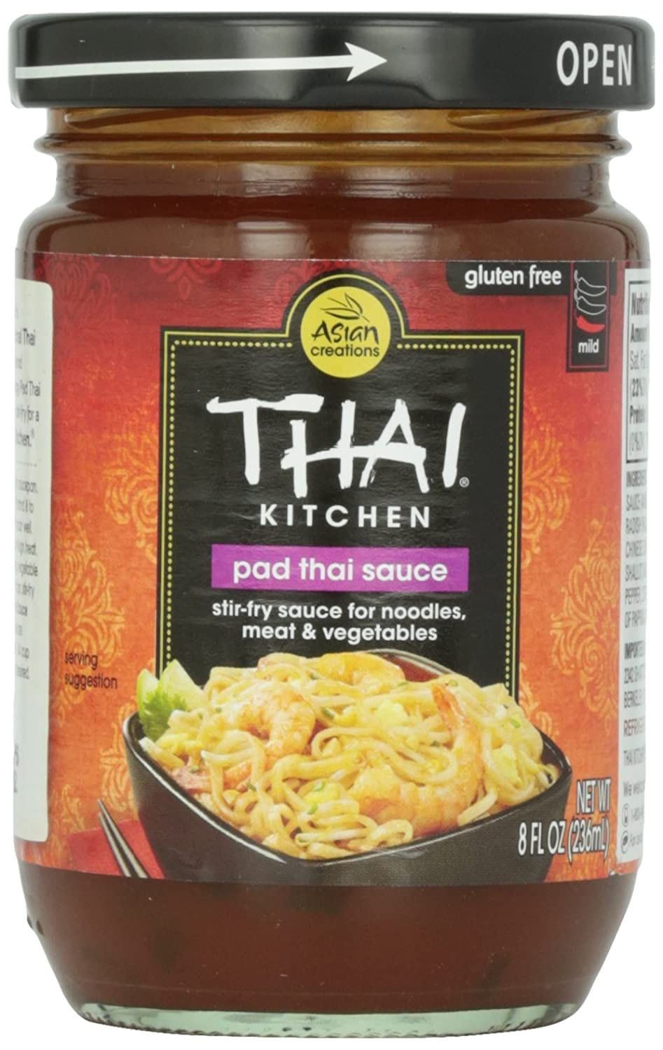 Amazon.com : Thai Kitchen Pad Thai Sauce, 8 oz : Grocery