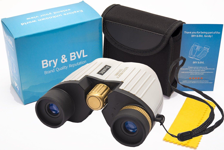 Binoculars for Kids - HIGH Resolution, Shockproof | 8X22 Kids Binoculars for Bird Watching, Waterproof, BEST Gifts for Boys, Girls | Real Optics Set for Outdoor Toddler Games