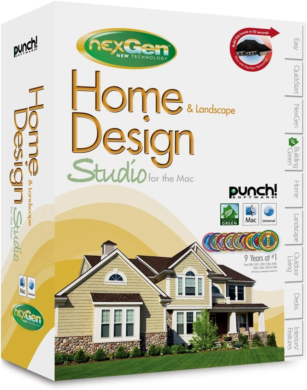 Amazon Com Punch Software Home Landscape Design Studio For The Mac With Nexgen Technology Old Version