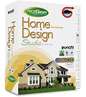 punch software home landscape design studio for the mac with nexgen technology old version