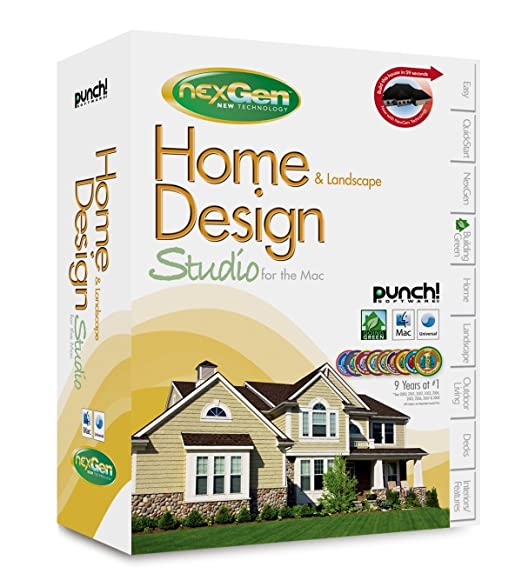 Amazon.com: Punch Software Home & Landscape Design Studio for the ...