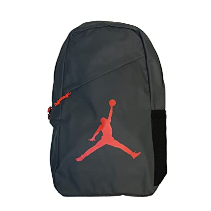 dce9006e4aef1c Amazon.com  Nike AIR JORDAN Backpack Crossover Pack (Dark Grey ...