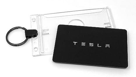 Tesla Model 3 - Soporte para Tarjeta de Llave para Valet y Llavero ...