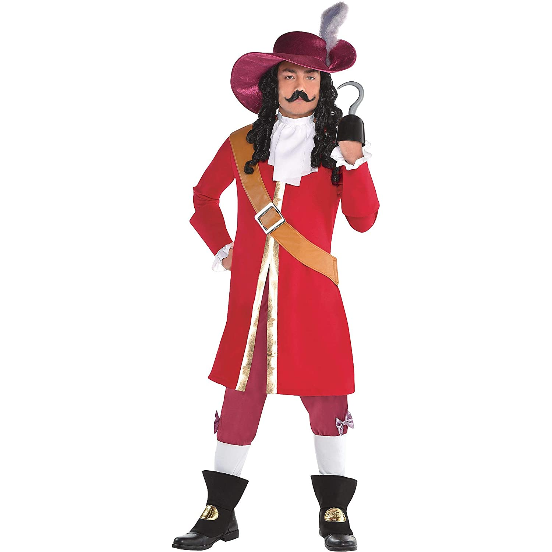 SUIT YOURSELF Disfraz de Capitán Garfio para Halloween, para ...