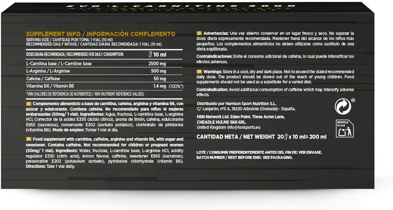 Carnitina Líquida de HSN Evo L-Carnitine 3000 | Pérdida de Peso + ...