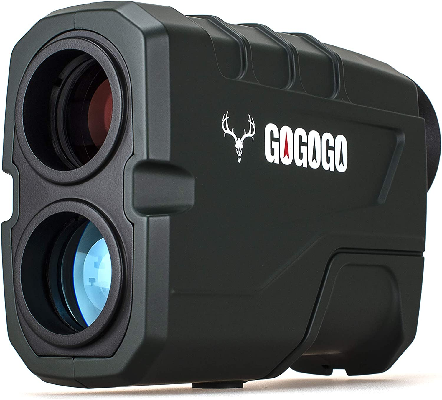 Gogogo Sport 1200 Yards Laser Range Finder, Hunting with Flagpole Lock - Ranging - Speed and Scan 6X Rangefinders with USB Cable : Sports & Outdoors