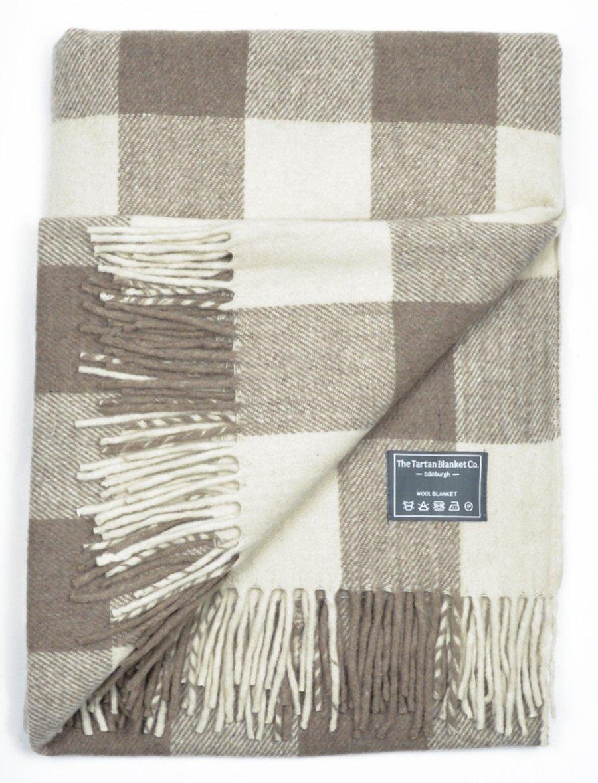 The Tartan Blanket Co. Recycled Wool Blanket Jacob Tartan (150cm x ...