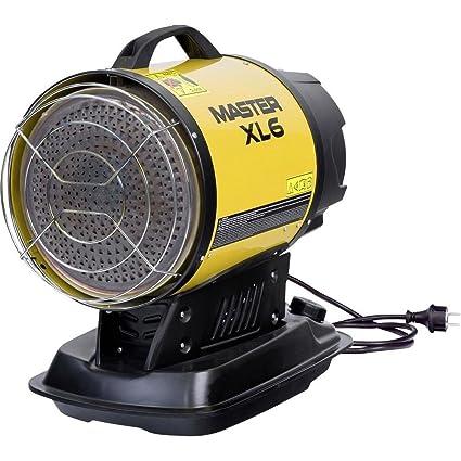 Master XL6infrarrojos 17kW Estufa gasóleo y diésel Taller calefactora, tienda, calefacción de diésel (