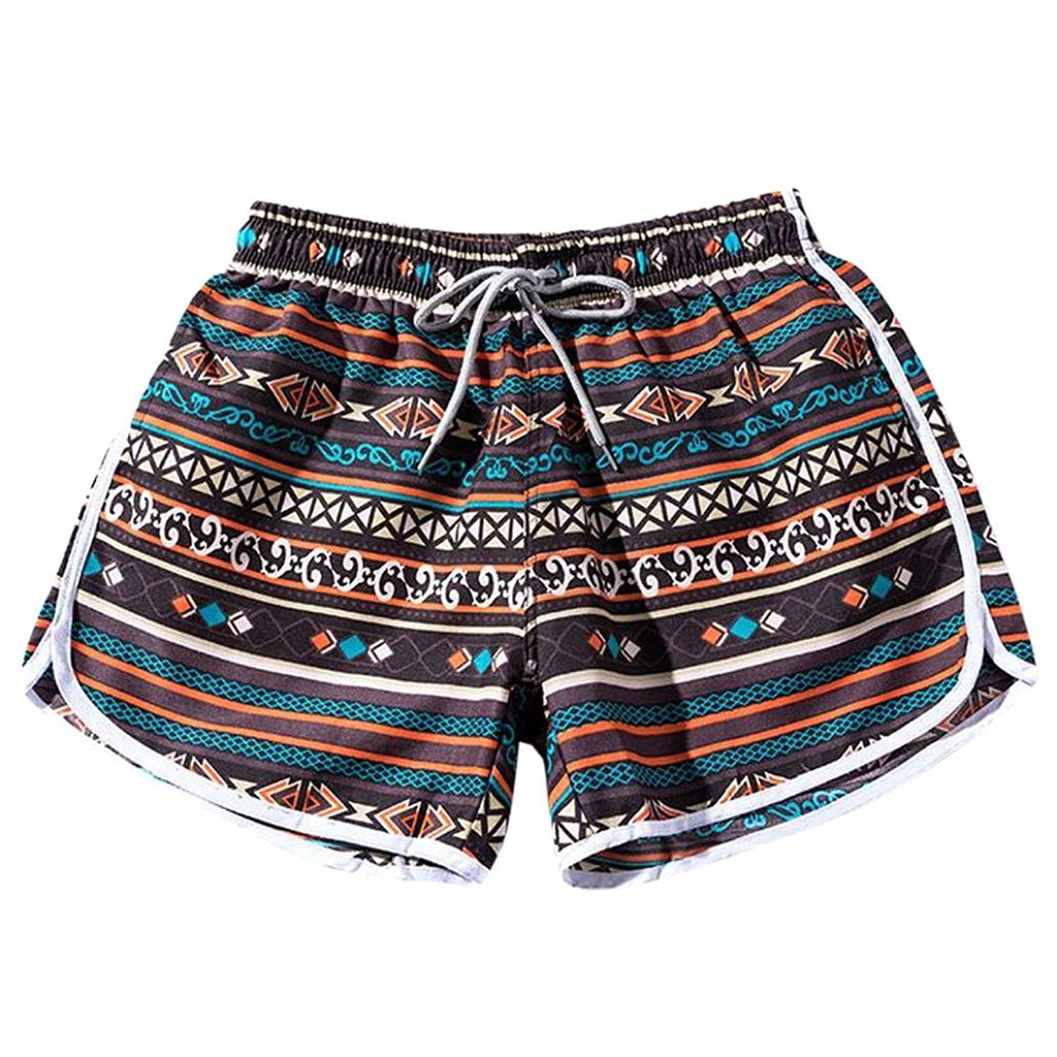 Hukz - Short de bain - Fille Marron marron