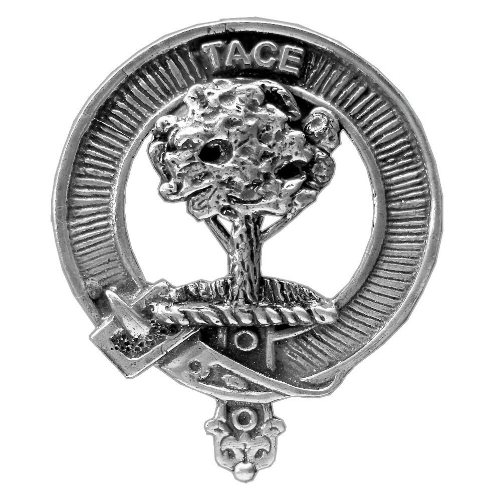 Abercrombie Scottish Clan Crest Badge ~ Sterling Silver
