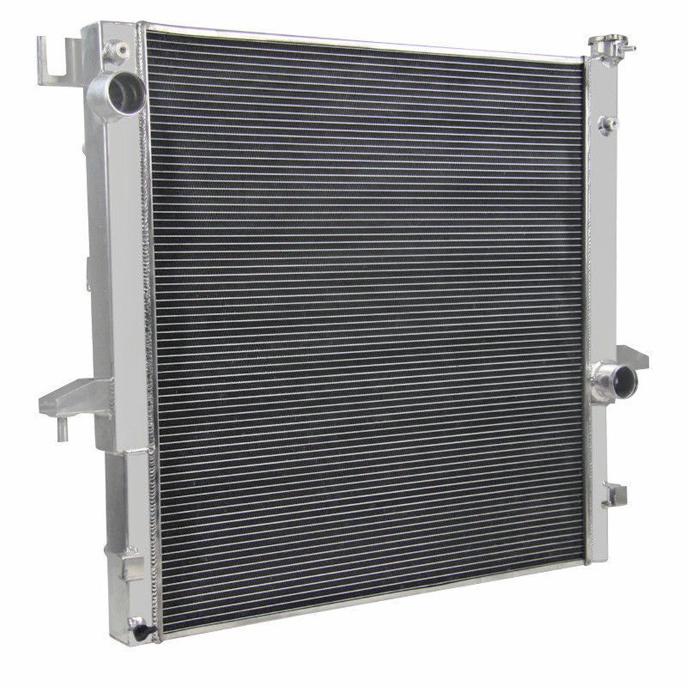 OzCoolingParts 03-10 Dodge Ram-Series Radiator Pro 2 Row Core Full Aluminum Radiator For 2003-2010 2004 2005 06 07 08 09 Dodge Ram 2500//3500 5.9 6.7 L6 Cummins Engine