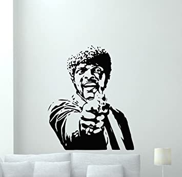 Pulp Fiction Wall Decal Quentin Tarantino Movie Vinyl Sticker Samuel ...