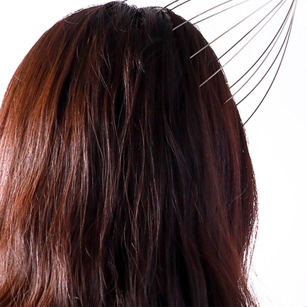 Runrain Nuova calde testa collana cuoio capelluto per rilassarsi massaggiatore massaggio strumento Stress
